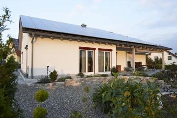 Neubau EFH in Holzrahmenbauweise