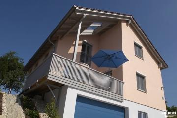 Neubau EFH in Brettsperrholz-Bauweise (LENO), KFW60