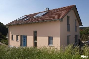 Neubau EFH in Brettsperrholz-Bauweise
