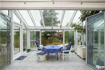 Neubau EFH mit Wintergarten als Passivhaus